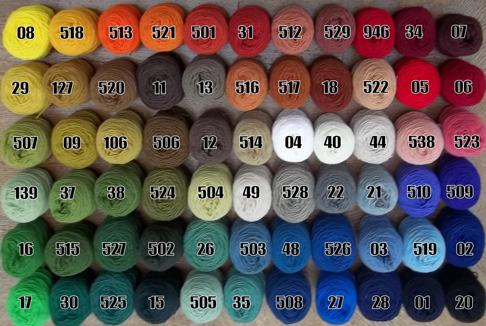 Danella color shades
