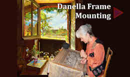 Video: Danella Frame Mounting